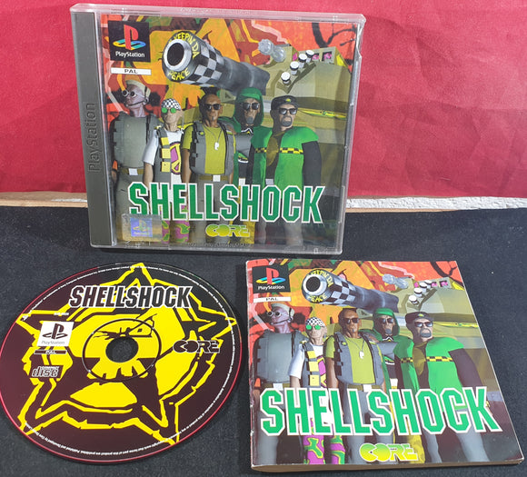 Shellshock Sony Playstation 1 (PS1) Game