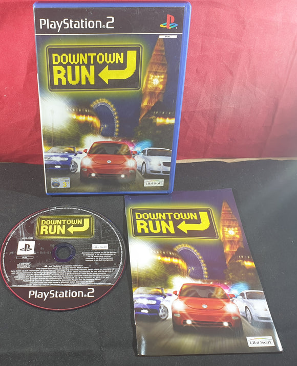 Downtown Run AKA City Racer Sony Playstation 2 (PS2) Game
