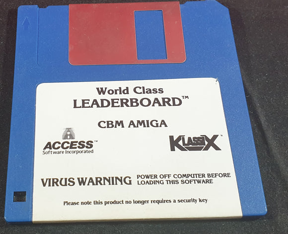 World Class Leaderboard Disc Only Amiga Game