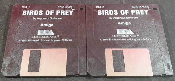 Birds of Prey Discs Only Amiga