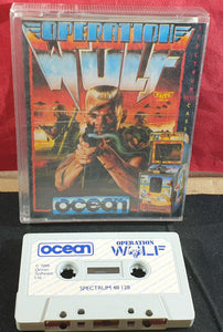 Operation Wolf ZX Spectrum Game
