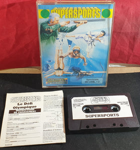Super Sports ZX Spectrum RARE Game