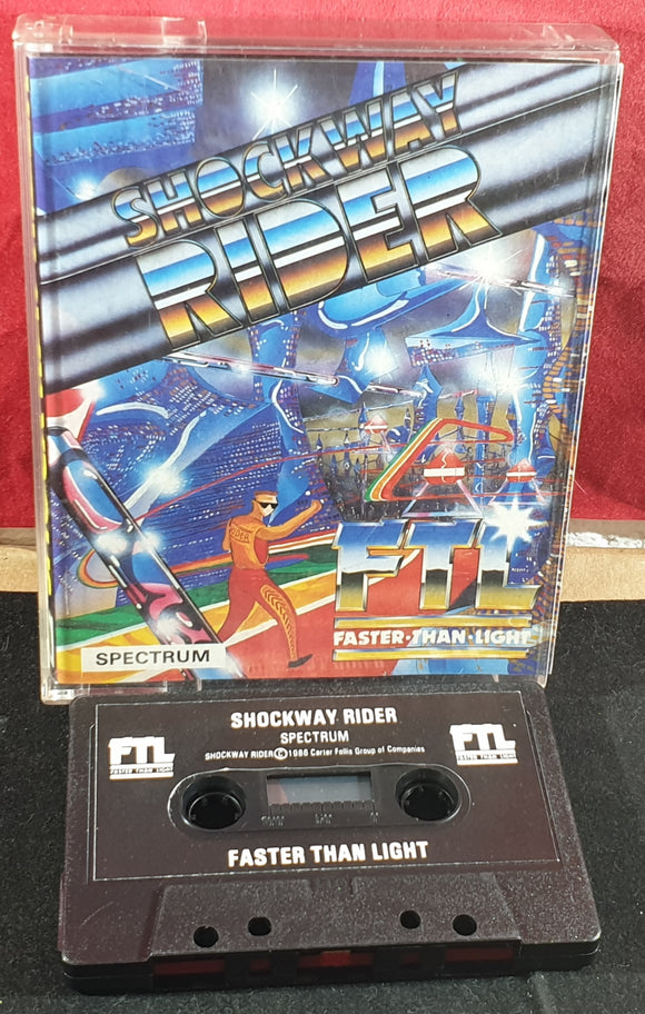 Shockway Rider ZX Spectrum Game