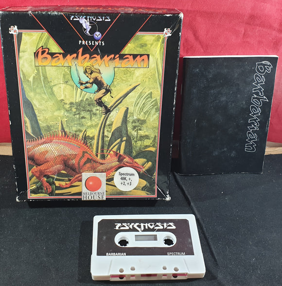 Barbarian ZX Spectrum Game