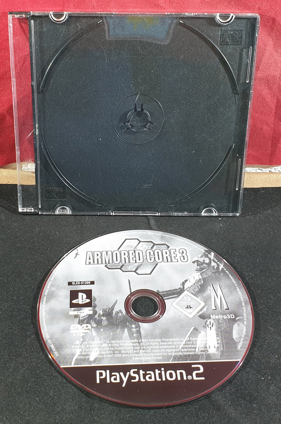 Armored Core 3 Disc Only Sony Playstation 2 (PS2) Game