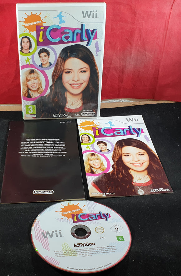 iCarly Nintendo Wii Game