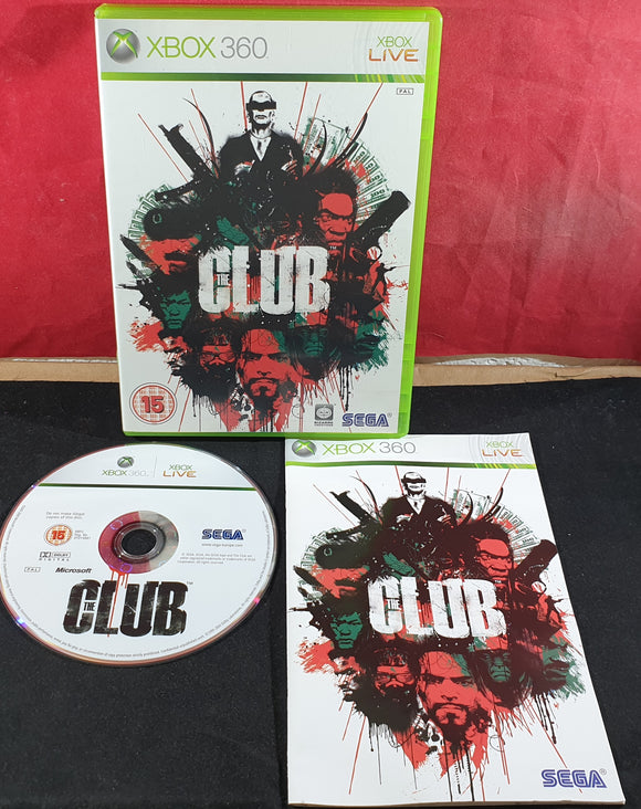 The Club Microsoft Xbox 360 Game