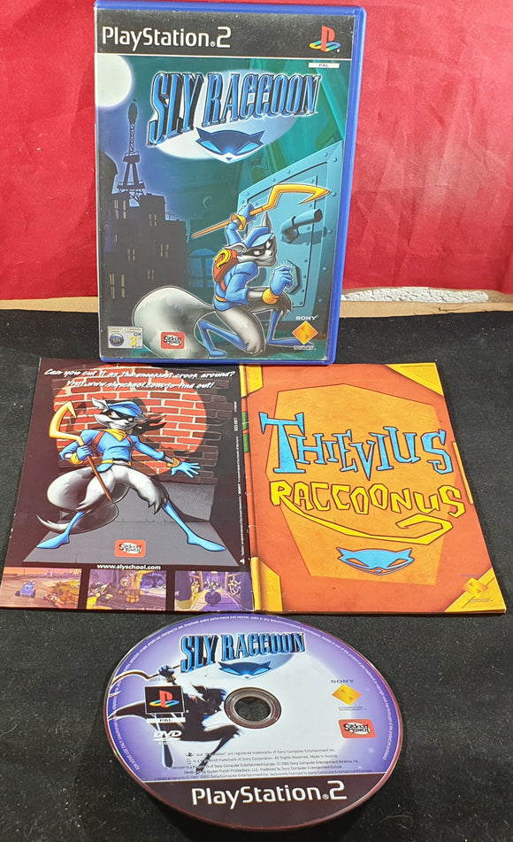 Sly Raccoon Sony Playstation 2 (PS2) Game