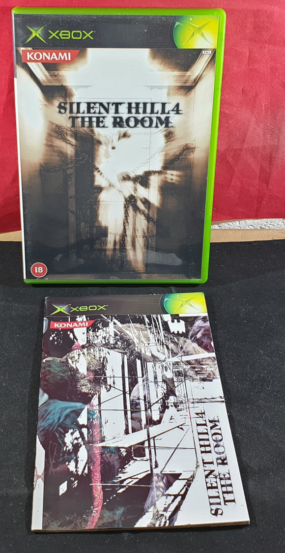 Silent Hill 4 the Room Empty Case and Manual Only Microsoft Xbox
