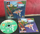 Air Combat RARE Black Label Sony Playstation 1 (PS1) Game