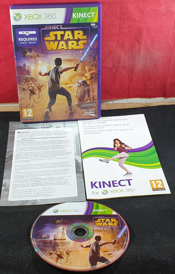 Kinect Star Wars Microsoft Xbox Game