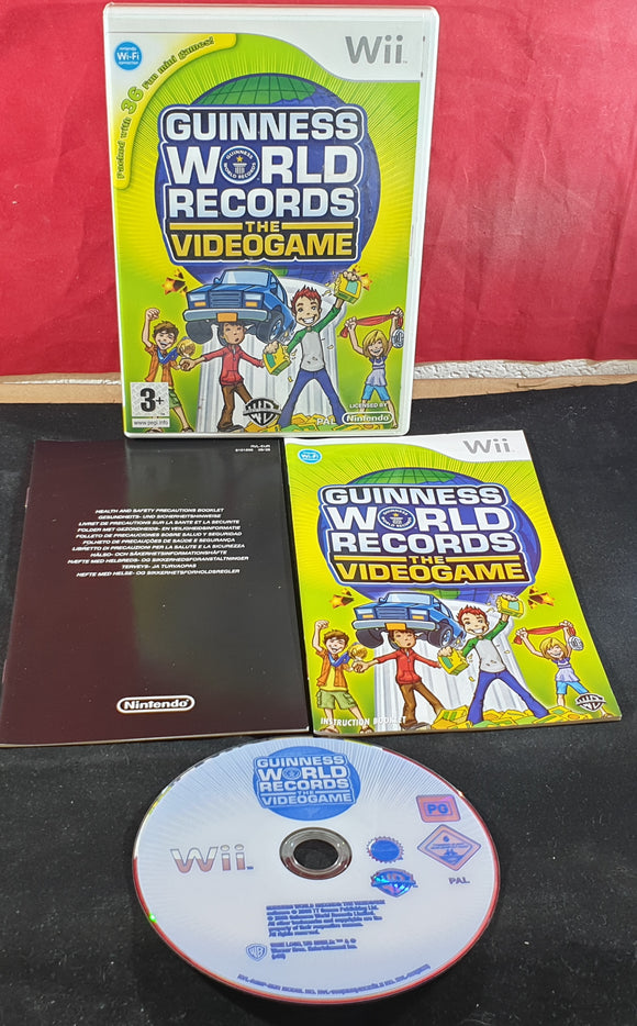 Guinness World Record Nintendo Wii Game
