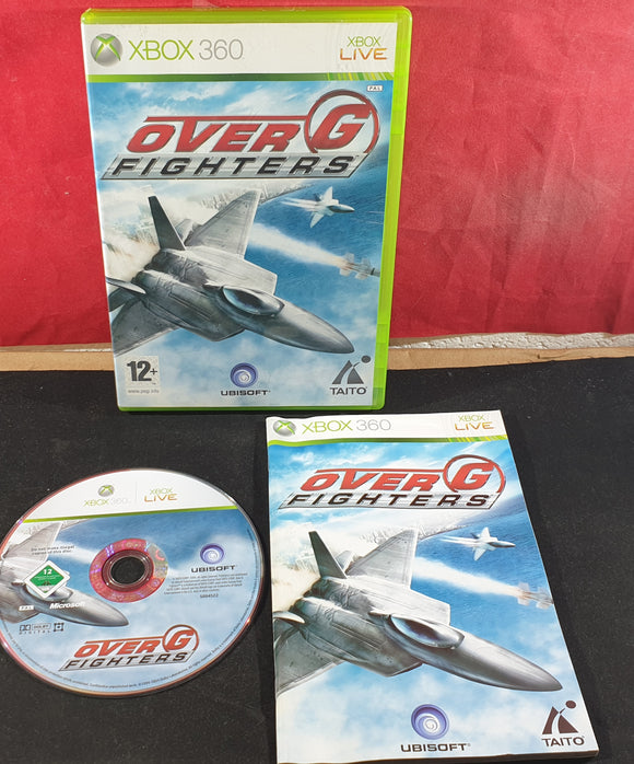Over G Fighters Microsoft Xbox 360 Game