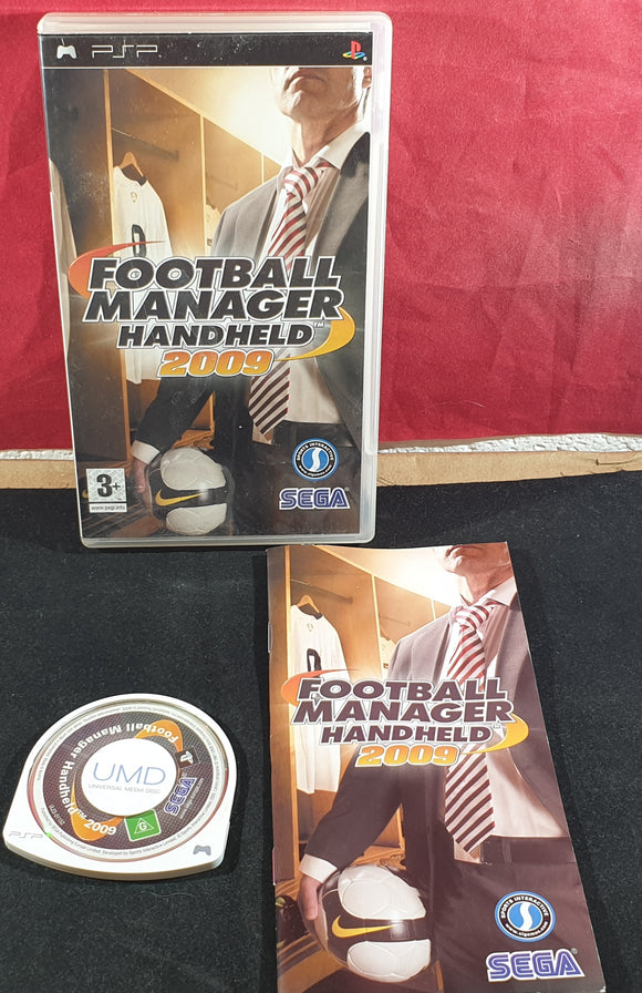 Football Manager Handheld 2009 Sony PSP Game