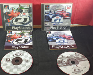 F1 2000 & F1 Championship Season 2000 Sony Playstation 1 (PS1) Game Bundle
