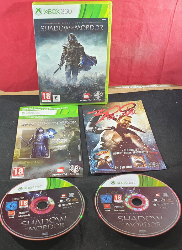 Middle Earth Shadow of Mordor Microsoft Xbox 360 Game