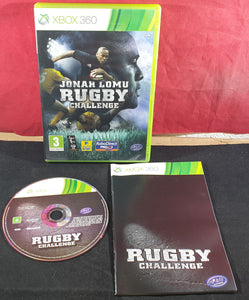 Jonah Lomu Rugby Challenge Microsoft Xbox 360 Game