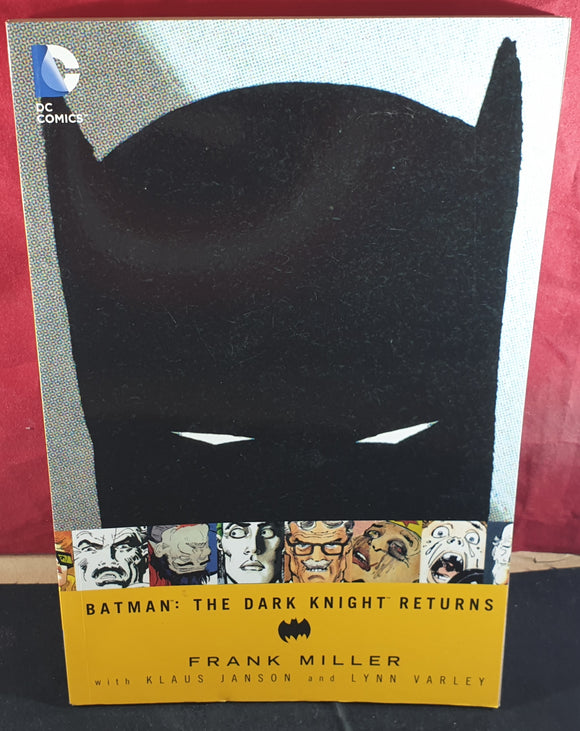 Batman the Dark Knight Returns Comic Book