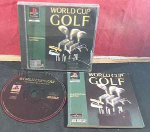World Cup Golf Professional Edition Sony Playstation 1 (PS1) Game