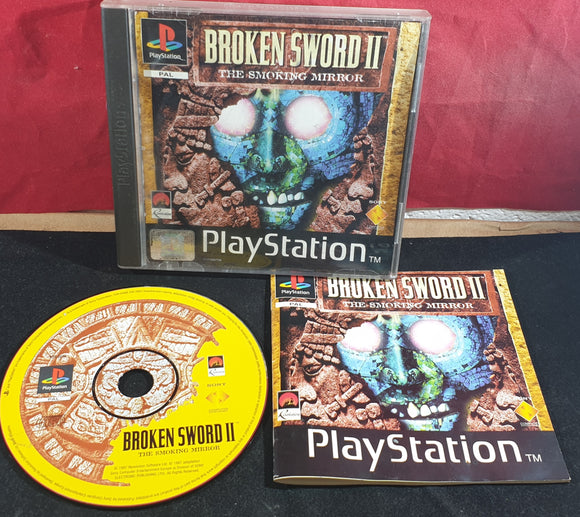 Broken Sword II the Smoking Mirror Sony Playstation 1 (PS1) Game