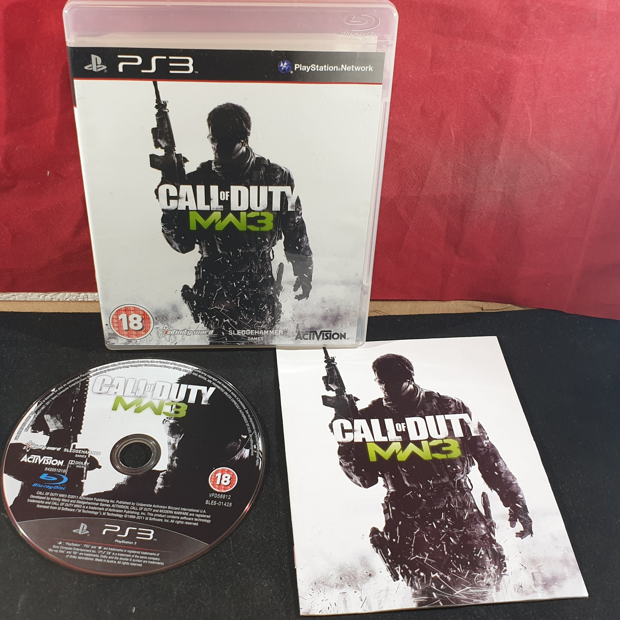 Call Of Duty Modern Warfare 3 Sony Playstation 3 Ps3 Game