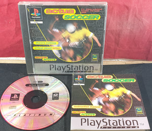 Actua Soccer Sony Playstation 1 (PS1) Game