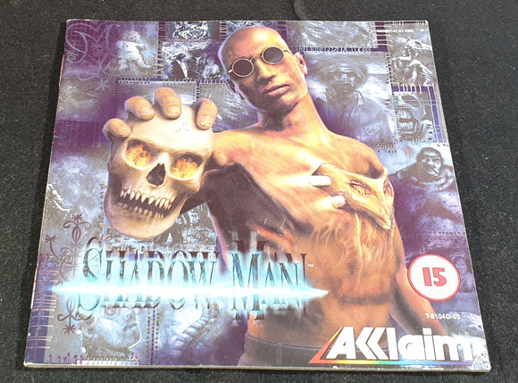 Shadow Man Sega Dreamcast Spare Manual Only