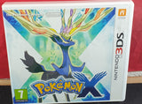 Pokemon X Nintendo 3DS Empty Case Only
