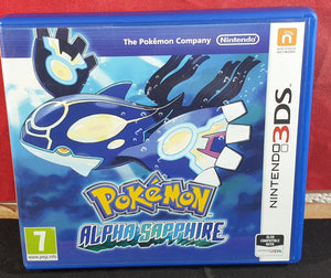 Pokemon Alpha Sapphire Nintendo 3DS Empty Case Only