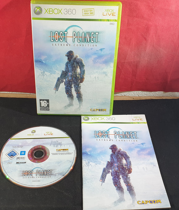 Lost Planet Extreme Condition Microsoft Xbox 360 Game