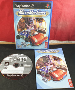 Micro Machines Sony Playstation 2 (PS2) Game