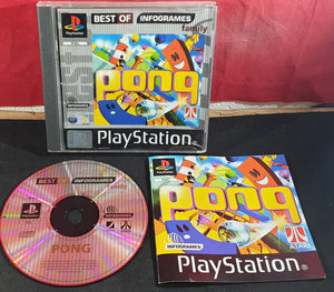 Pong Best of Infogrames Sony Playstation 1 (PS1) Game
