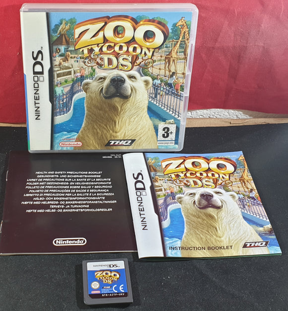 Zoo Tycoon Nintendo DS Game