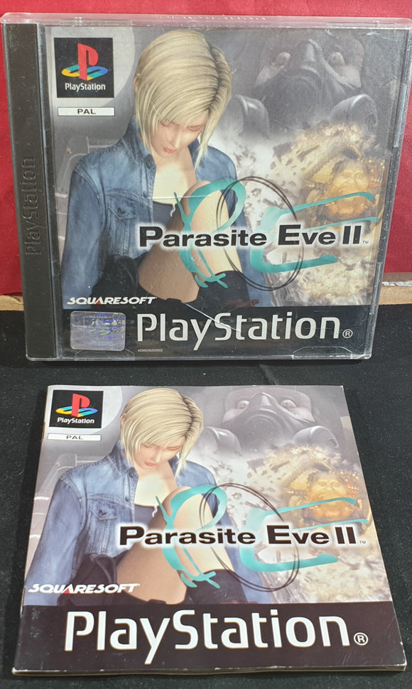 Parasite Eve II Sony Playstation 1 (PS1) Empty Case and Manual Only