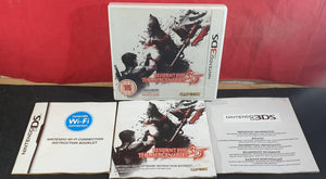 Resident Evil the Mercenaries 3D Nintendo 3DS Empty Case & Manual Only
