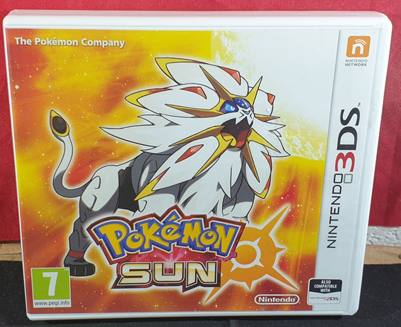 Pokemon Sun Nintendo 3DS Empty Case Only