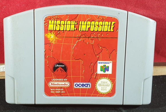 Mission Impossible Cartridge Only Nintendo 64 (N64) Game