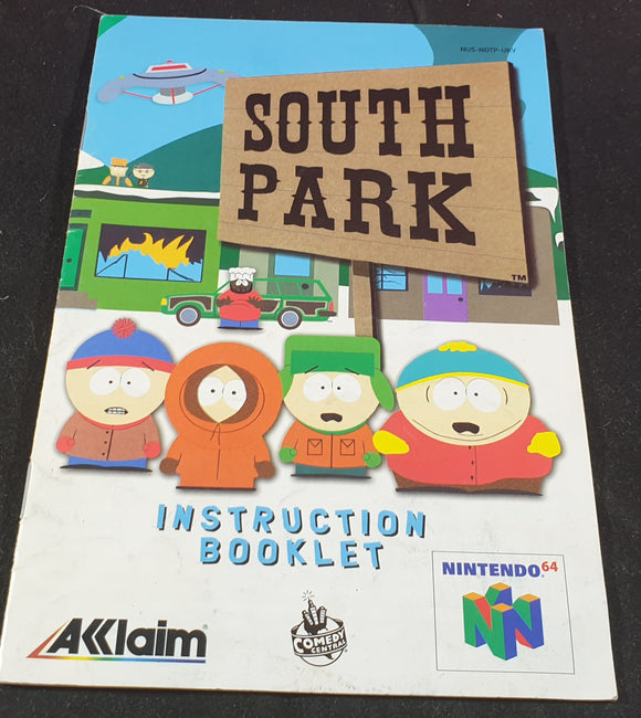 South Park Nintendo 64 (N64) Spare Manual Only