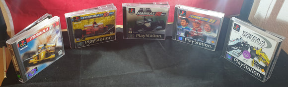 Formula 1 96 - 2000 Sony Playstation 1 (PS1) Game Bundle