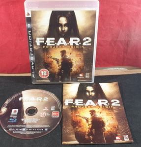 F.E.A.R. 2 Project Origin Sony Playstation 3 (PS3) Game