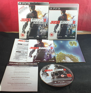 Just Cause 2 Limited Edition with Map Sony Playstation 3 (PS3) Game