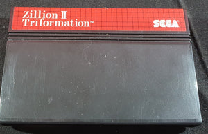 Zillion II Triformation Cartridge Only Sega Master System Game