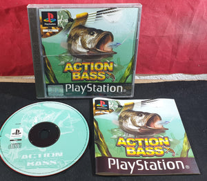 Action Bass Sony Playstation 1 (PS1) Game