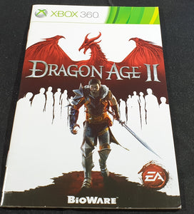 Dragon Age II Microsoft Xbox 360 Spare Manual Only