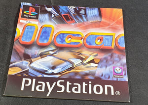 Rollcage Sony Playstation 1 (PS1) Spare Manual Only