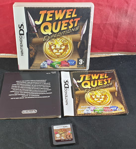 Jewel Quest Expeditions Nintendo DS Game
