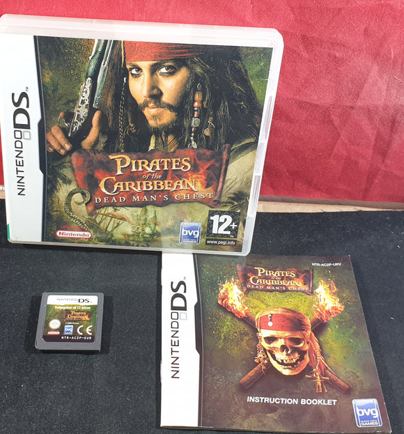 Pirates of the Caribbean Dead Man's Chest Nintendo DS Game