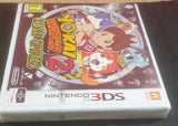 Brand New and Sealed Yo-Kai Watch 2 Bony Spirits Nintendo 3DS Game