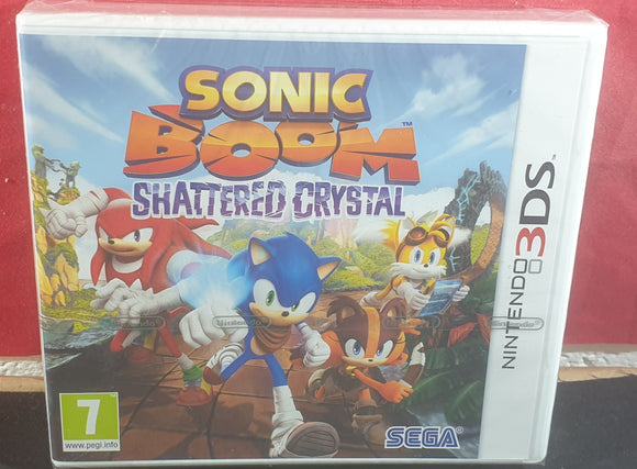 Brand New and Sealed Sonic Boom Shattered Crystal Nintendo 3DS Game