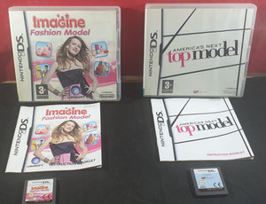 Imagine Fashion Model & America's Next Top Model Nintendo DS Game Bundle